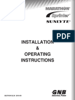 Section 92_30 2016-09 Marathon Sprinter Sunlyte Installation and Operation Manual