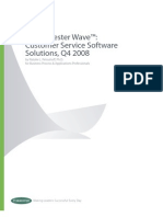 Forrester Customer Service Wave q42008