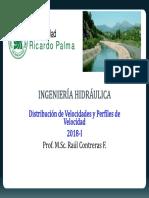 Cap N° 2-Distribución de Velocidades y Perfiles de Velocidad