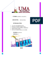 Cuestionario 4 Quimica Analitica