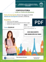 Diplomado en Traducción