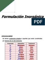 Formulacion Inorgánica y Orgánica NORMAS