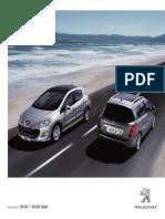 Catalogue Peugeot 308 SW