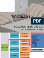 II. Tipicidad (i)