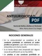III. Antijuridicidad (i)