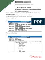 Agenda Muni Cusco 13 - 14 de Febrero