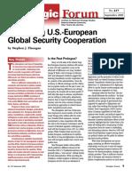 Strategic Forum. Sustaining U.S.-european Global Security Cooperation