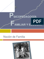 Psicopedagogía Familiar y Escolar