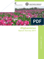 UNODC Afghanistan Opium Survey 2011