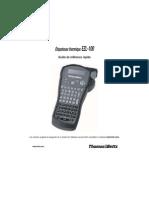 EZL100 Guide Utilisateur-F
