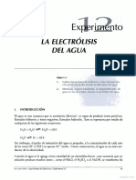 Prácica Electrólisis Del Agua-Fernando Corrales