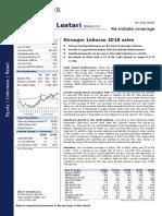 20180703 Indo Premier RALS - Stronger Lebaran 2018 Sales