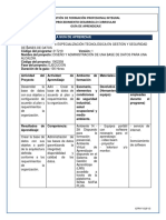 Gt3 - Crear La Base de Datos de Acuerdo Al Plan y Requerimientos de La Organización
