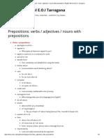 Prepositions_ Verbs _ Adjectives _ Nouns With Prepositions _ English 5th Level E.O.I Tarragona