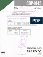 SONY CDP-M45