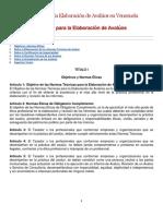 Normas para la Elaboración de Avalúos en Venezuela.docx