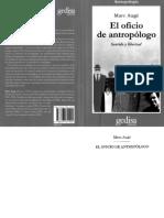 AUGE, M.  El Oficio De Antropologo-1.PDF