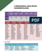 Kata Kerja Operasional Bloom Revisi
