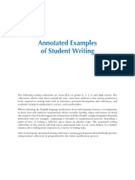 TELPAS Student Writing Samples Student 6