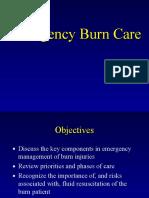 Emergency Burn Care