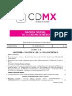 Gaceta CDMX 2017 Parquimetros