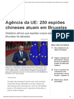 Agência Da UE_ 250 Espiões Chineses Atuam Em Bruxelas _ Nicole Hao _ Espionagem _ China _ Epoch Times Em Português