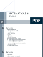 Matemáticas 11 1