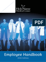 Employee Handbook 2016