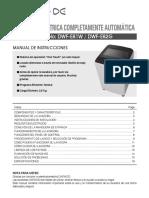 Manual de Usuario DWF E81W