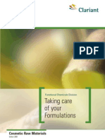 Taking Care of Your Formulations - 2003
