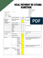Clinical Pathway Kuretase