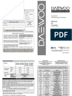 Manual de Usuario Ref Dfr 252 322 Serie 5cb