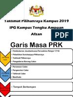 Taklimat Pilihanraya Kampus 2019