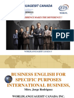 Business English International Trade