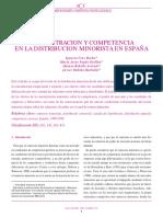 Art - Cruz, Yague, Rebollo - Concentracion y Competencia en La Distribucion Minorista en España