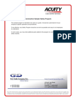 IAGP Safety Doc Acuity