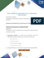 Anexo -1-Ejemplos Para El Desarrollo Tarea 1 - Proposiciones y Tablas de Verdad