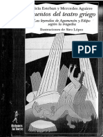 Cuentos del teatro griego - 4. Las leyendas de Agamenón y Edipo según la tragedia griega