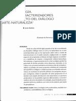Arte y Ecología. Aspectos caracterizadores en el contexto del diálogo arte-naturaleza