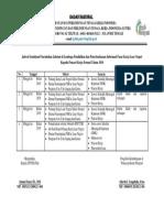Jadwal Sosialisasi Penyuluhan Jabatan Di Lembaga Pendidikan Dan Penyebarluasan Informasi Pasar Kerja Luar Negeri