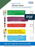 Medicines Waste Pledge Leaflet A5 v3