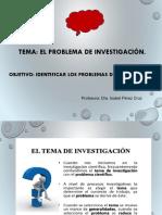 5. Problema de Investigaciòn