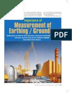 Earthing Measurement