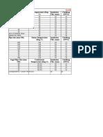 6 Insulation Summary (Sizing Calculation)
