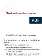 3.Classification of Aerodromes