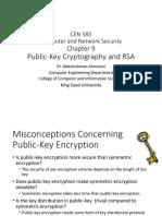 CEN585-06-Public Key Rsa DH