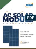 AC Solar Module: