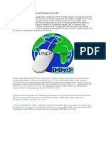 Cara Konfigurasi DHCP Server Di Debian Server 7.8