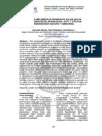 105809 ID Analisis Implementasi Promosi k3 Dalam u