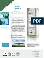 Indra-doppler Vhf Omnidirectional Range Brochure